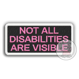 Not All Disabilities Are Visible