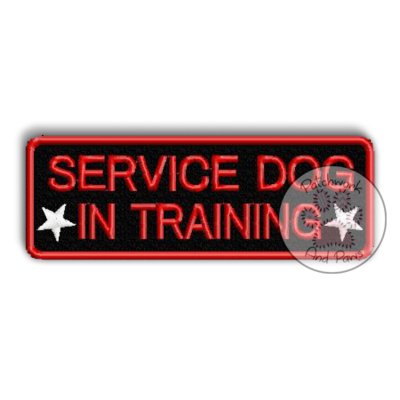 Service Dog In Training - Symbols