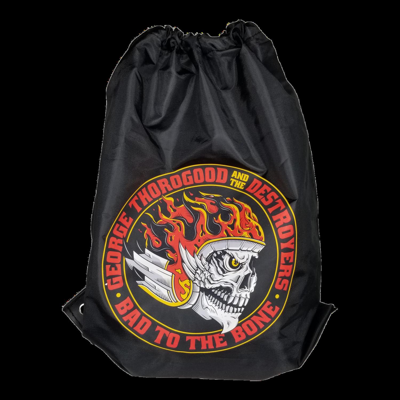 Bad to the Bone Drawstring Backpack