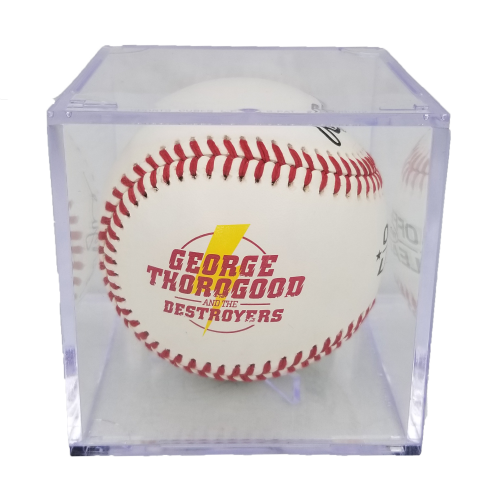 Autographed Rawlings Baseball with Case