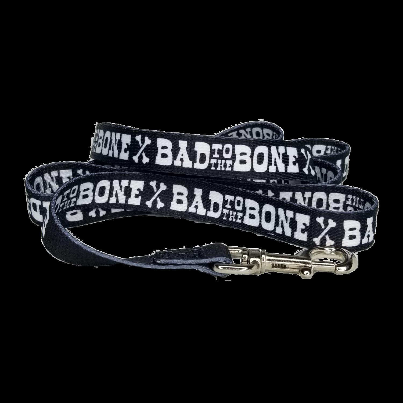 "Bad to the Bone 60"" Dog Leash"