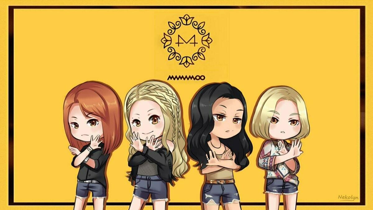 MAMAMOO Full 4 Members Handmade Clay Doll Exclusive (Pre-Order)