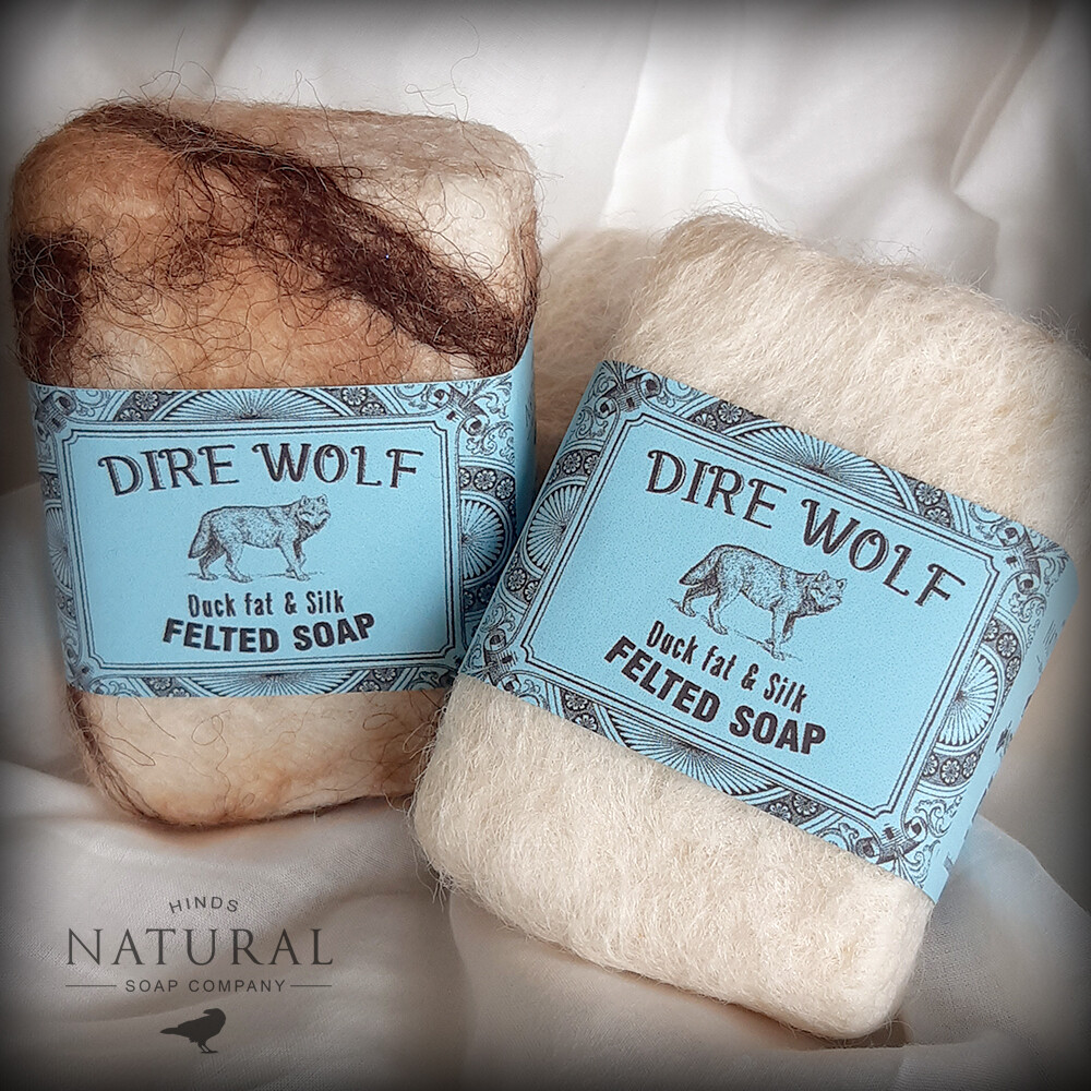 Dire Wolf - Felted Soap