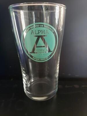 Logo Pint Glass