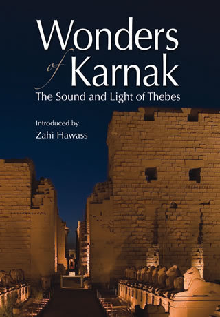 """Wonders of Karnak  The Sound and Light of Thebes """"Soft Cover""""  english edition"""