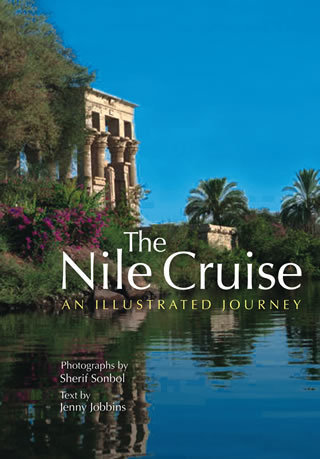 """The Nile Cruise  An Illustrated Journey """"Hard Cover""""  english edition"""