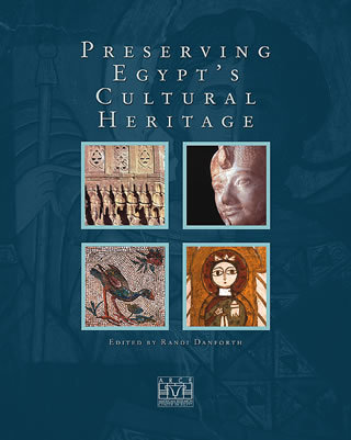 """Preserving Egypt's Cultural Heritage """"hard Cover""""  english edition"""