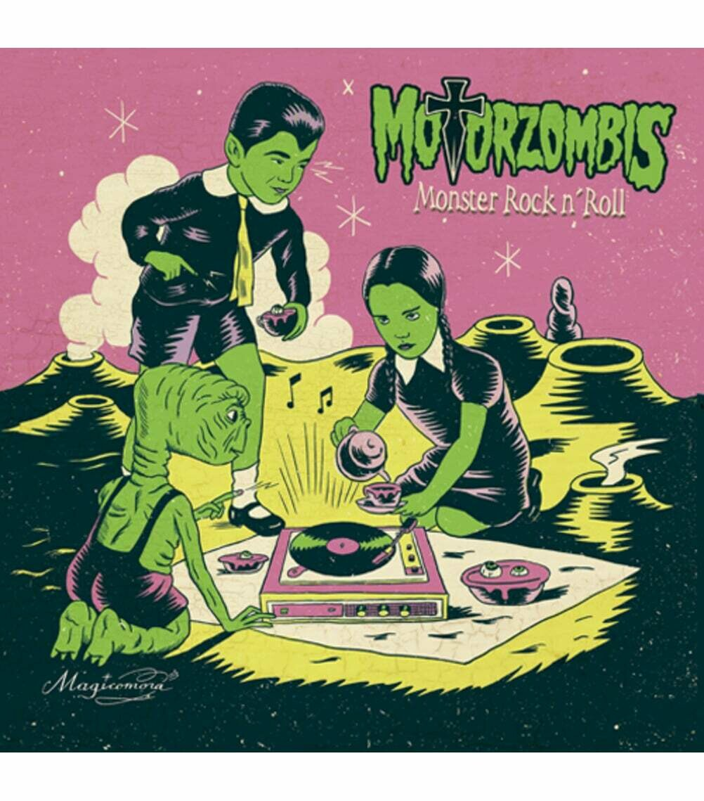 """MOTORZOMBIS """"Monster Rock and Roll"""" LP"""
