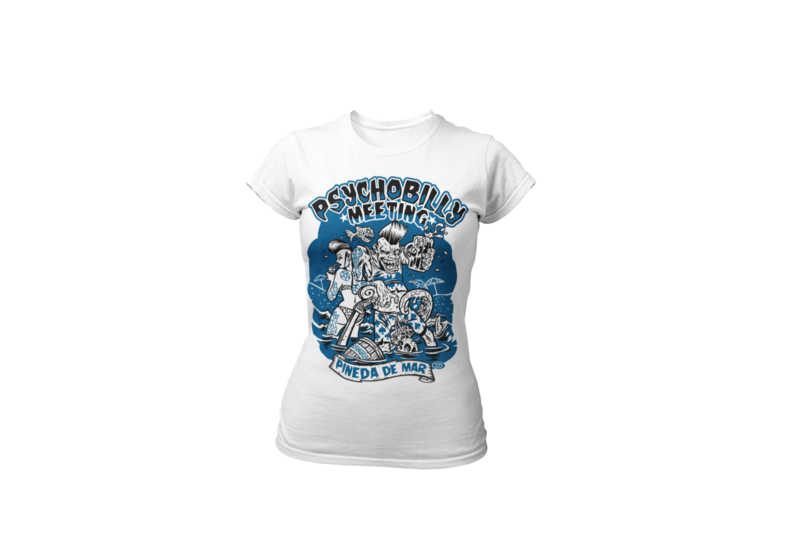 PSYCHOBILLY MEETING 2019 T-SHIRT WOMAN BY PASKAL