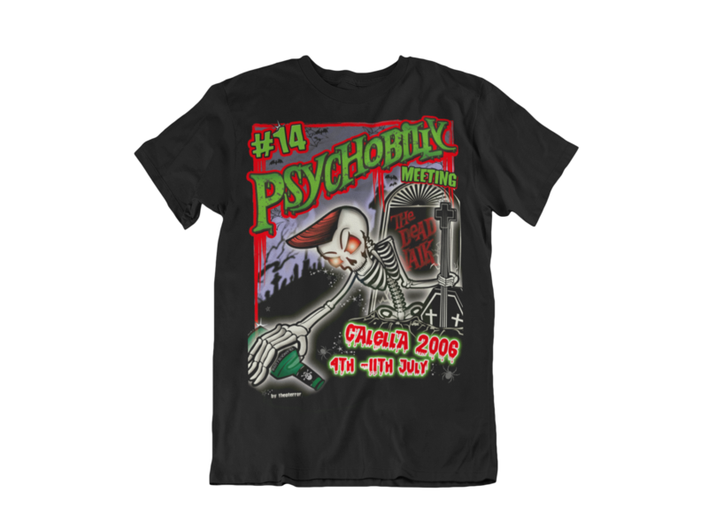 PSYCHOBILLY MEETING 2006 T-SHIRT MEN by THEO TERROR