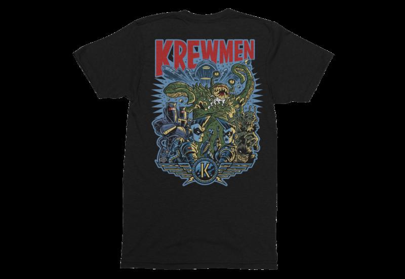 KREWMEN  tshirt for MEN by PASKAL