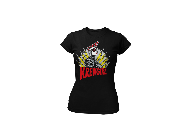 KREWGIRL  tshirt for WOMEN by PASKAL