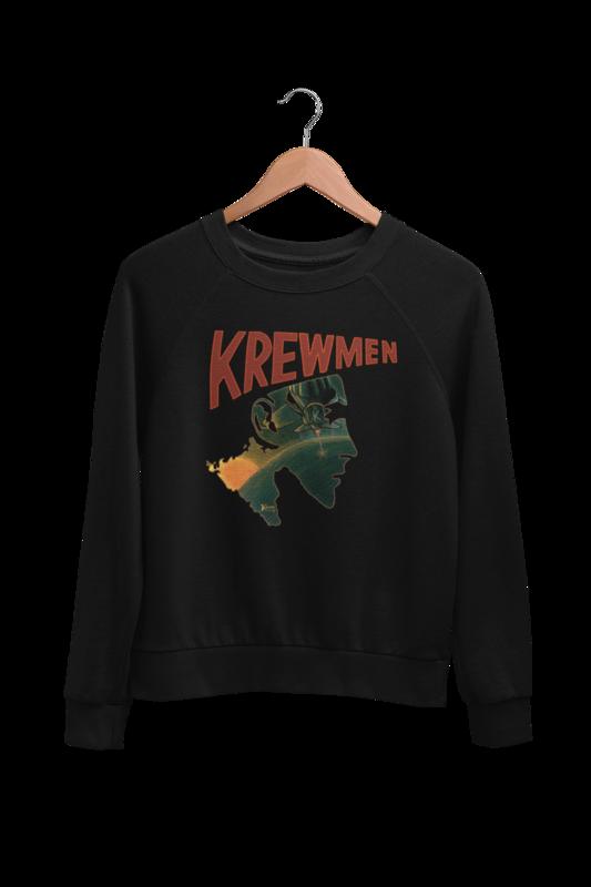 KREWMEN LOGO SWEATSHIRT by KING RAT DESIGN UNISEX