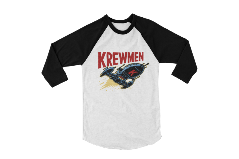 KREWMEN LOGO BASEBALL LONG SLEEVE By PASKAL UNISEX