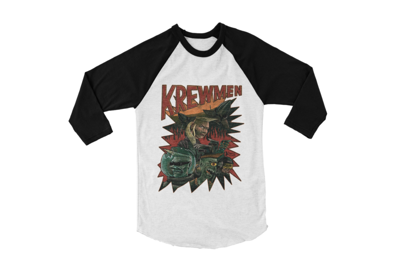 KREWMEN BASEBALL UNISEX LONG SLEEVE By KING RAT