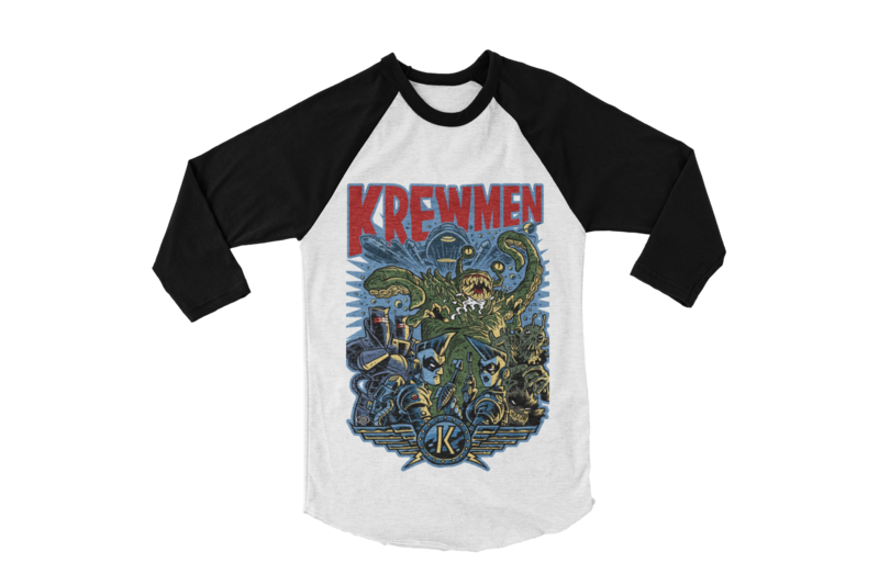 KREWMEN BASEBALL LONG SLEEVE By PASKAL UNISEX