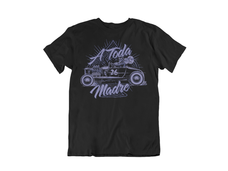 A TODA MADRE  T-SHIRT MAN BY Ger