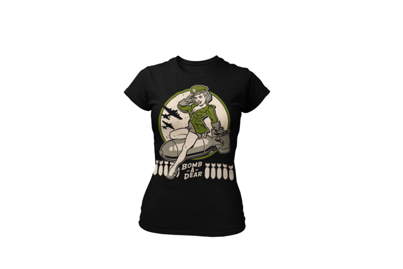 BOMB A DEAR T-SHIRT WOMAN by Ger