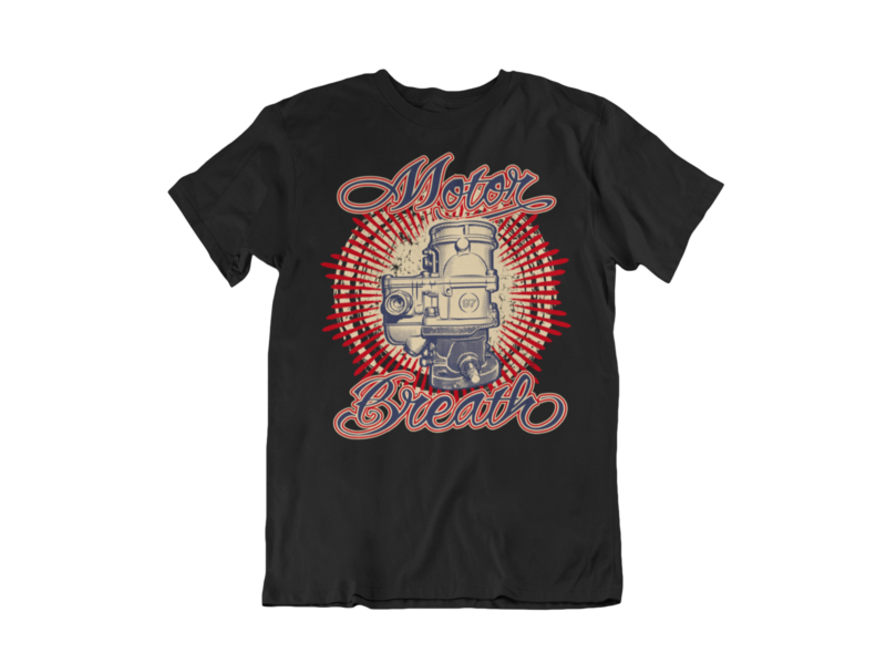 MOTOR BREATH T-SHIRT MAN BY Ger
