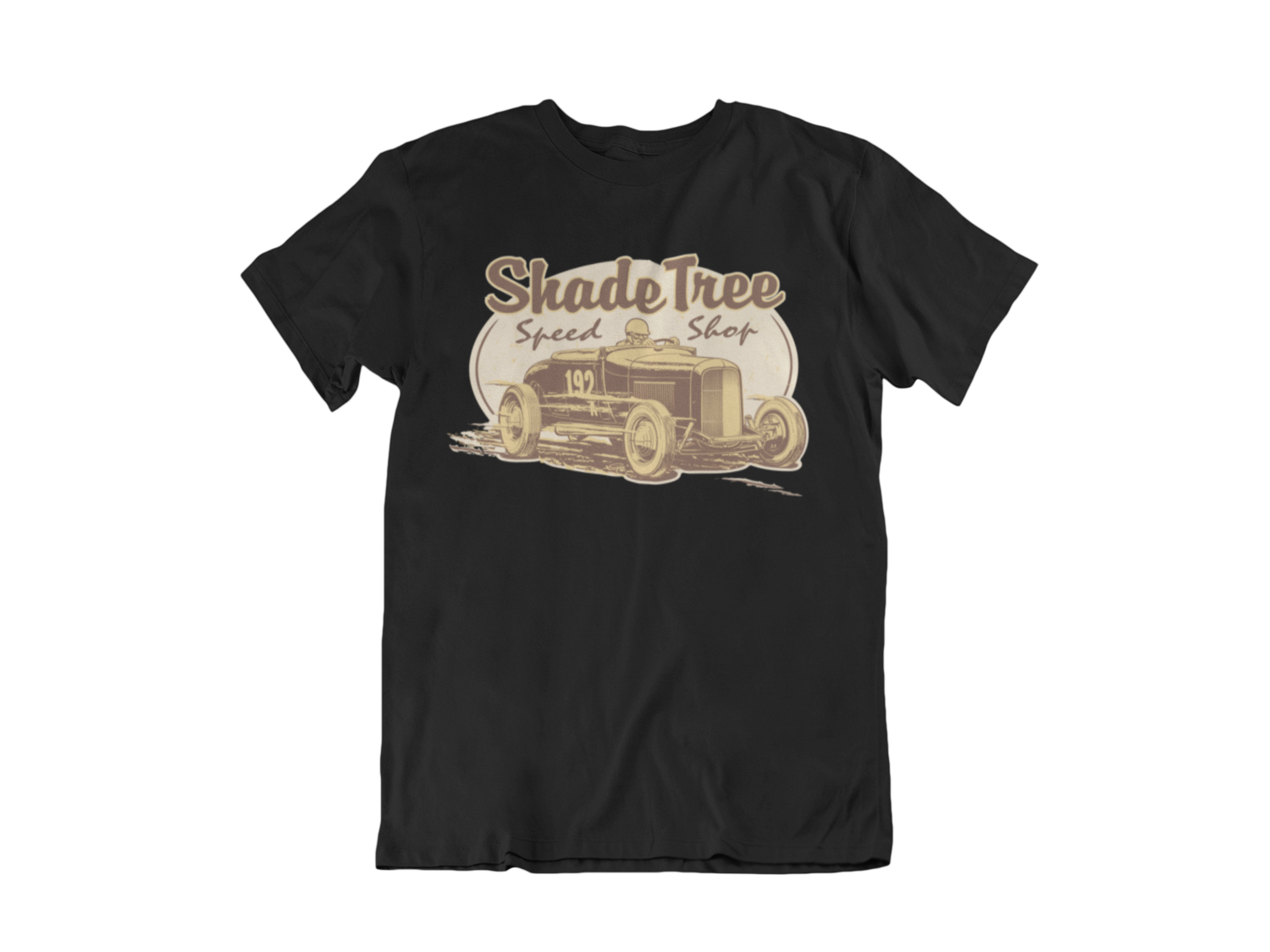 "SHADE TREE SPEED SHOP ""El Mirage"" T-SHIRT MAN BY Ger ""Dutch Courage"" Peters artwork"