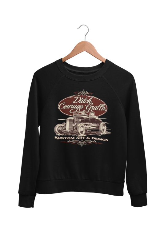 DUTCH COURAGE GRAFFIX SWEATSHIRT UNISEX by BY Ger