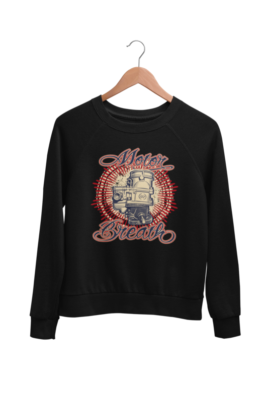 MOTOR BREATH SWEATSHIRT UNISEX by BY Ger