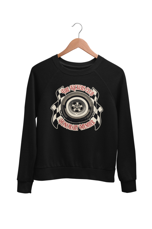 TIRE KICKERS CLUB SWEATSHIRT UNISEX by BY Ger