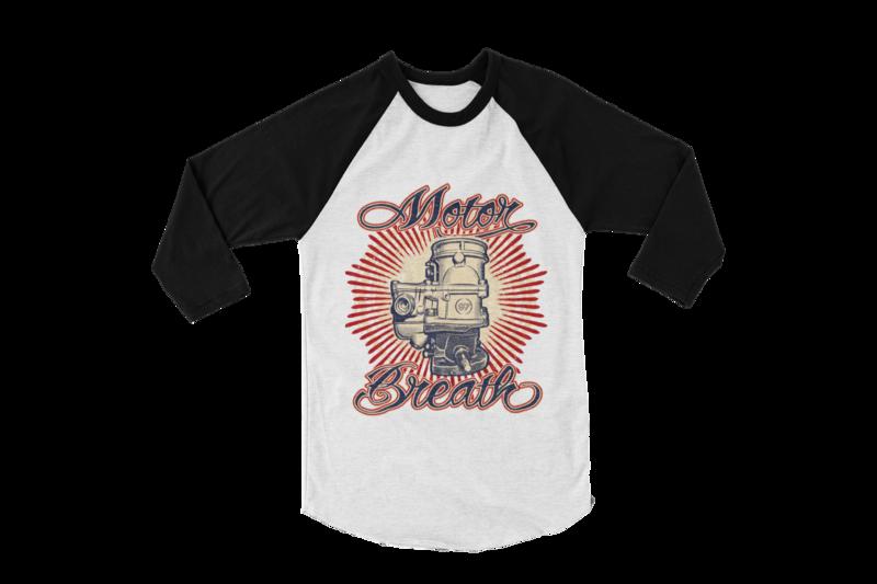 MOTOR BREATH BASEBALL LONG SLEEVE UNISEX BY Ger