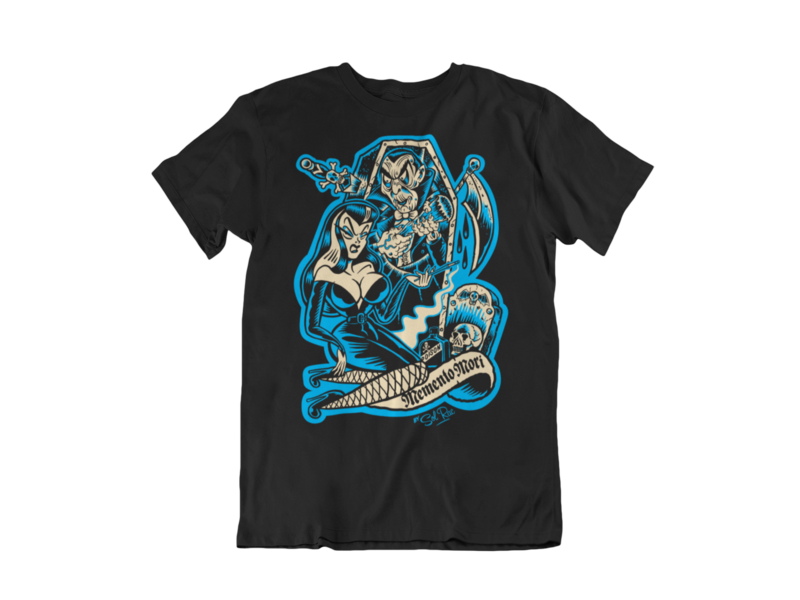 MEMENTO MORI T-SHIRT MAN BY SOL RAC