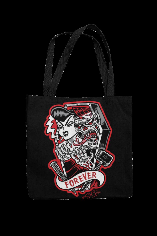 FOREVER Cotton Bag  logo design SOL RAC