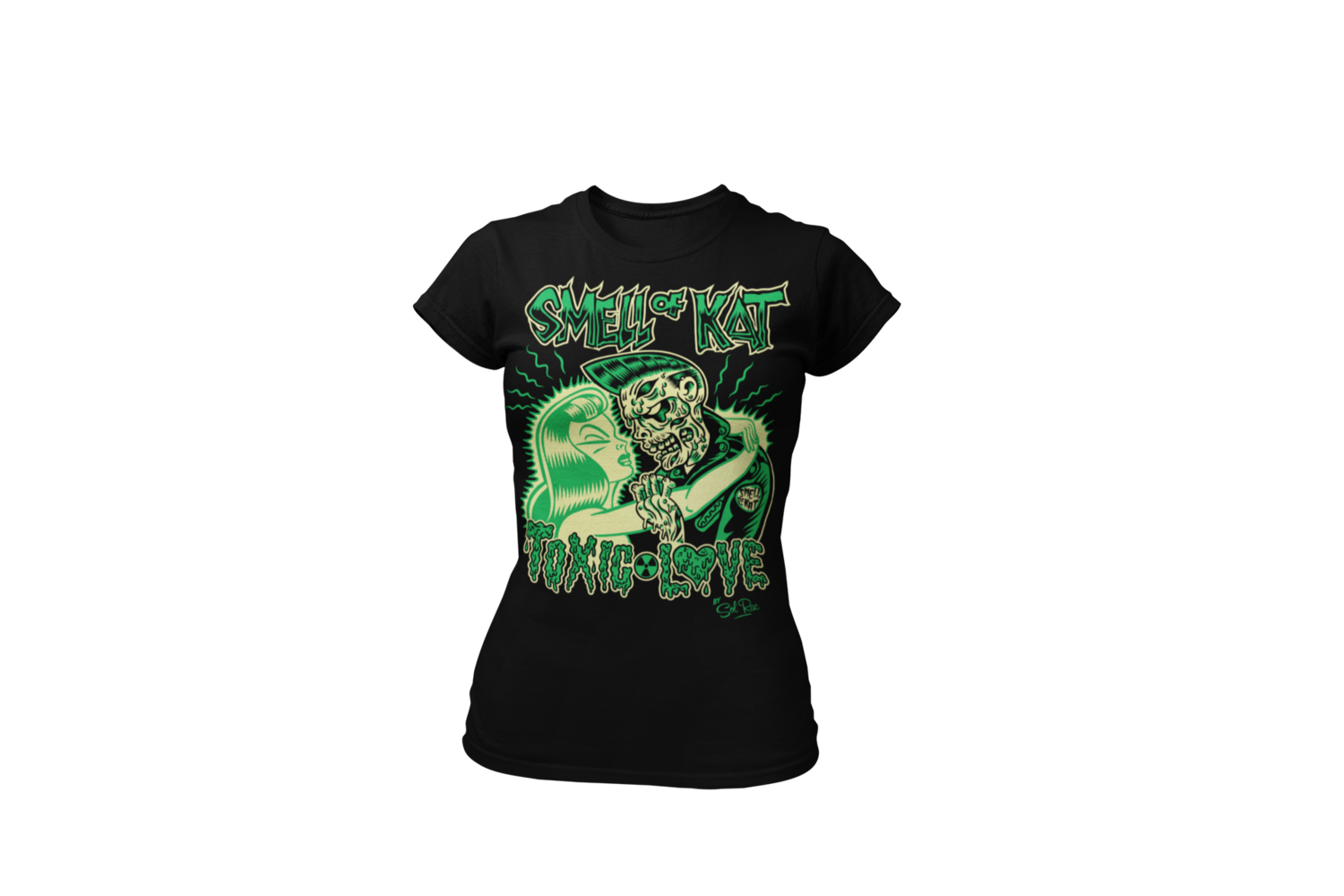 """SMELL OF KAT """"Toxic Love""""  tshirt for WOMEN"""