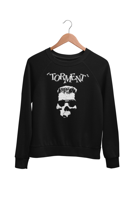 "TORMENT ""Old Skull"" SWEATSHIRT UNISEX"