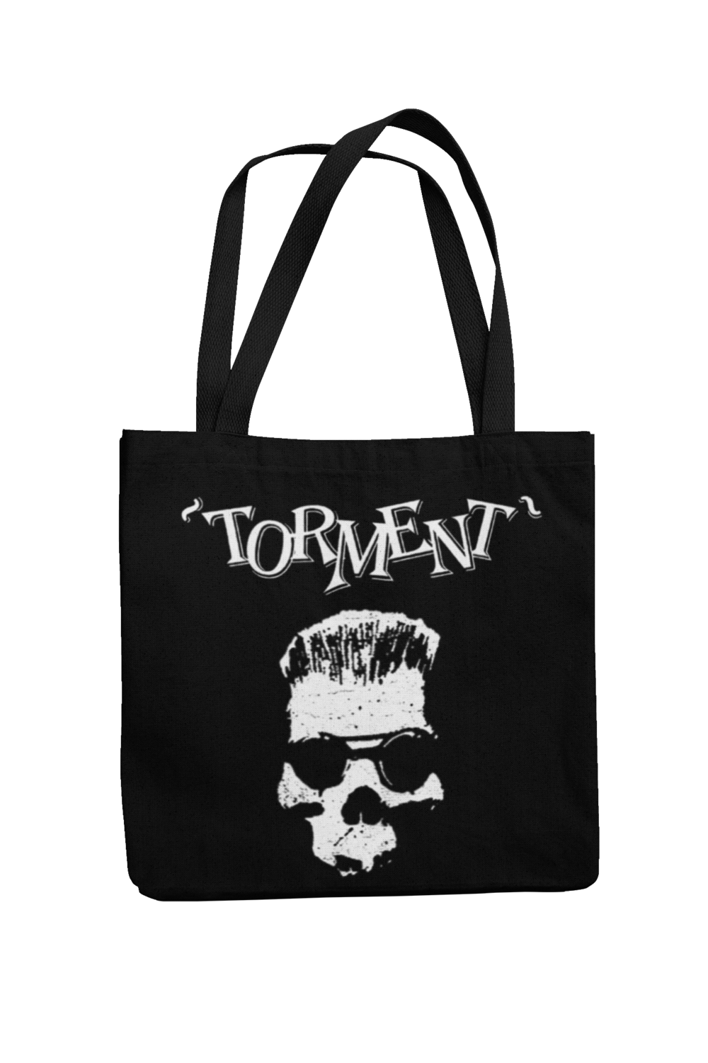 "TORMENT ""Old Skull"" Cotton Bag"