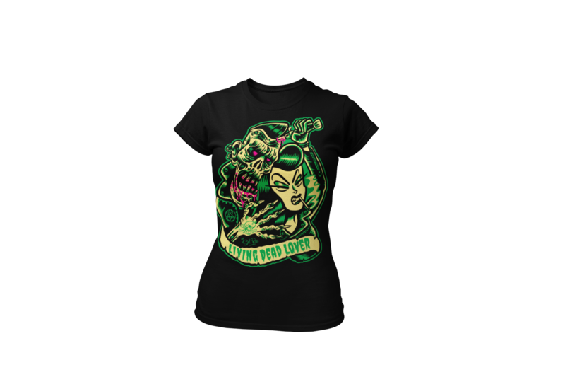 KILLER ZOMBIE GIRL T-SHIRT WOMAN by Sol Rac