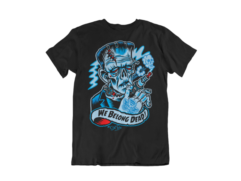 WE BELONG DEAD T-SHIRT MAN BY SOL RAC