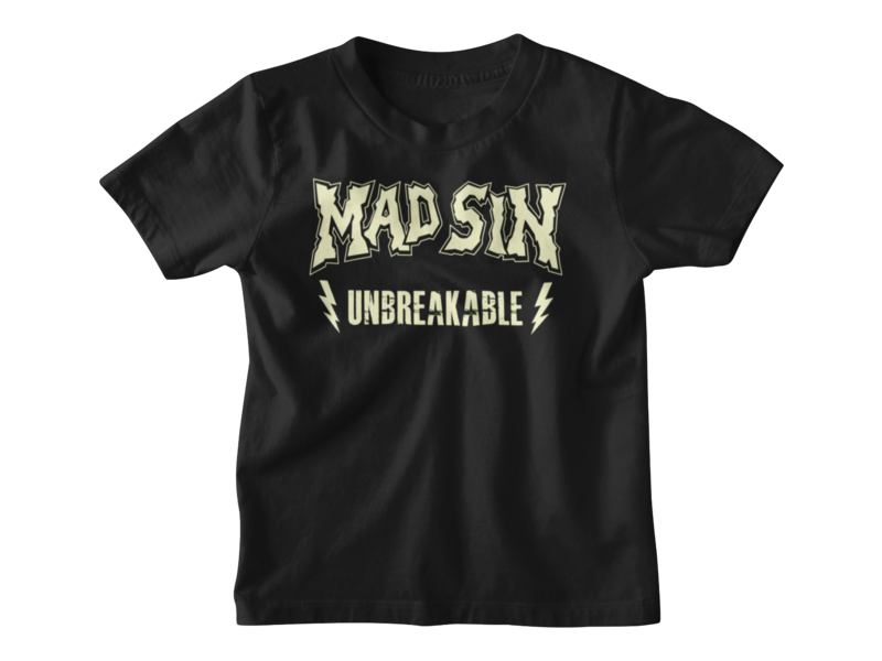 MAD SIN Unbreakable T-SHIRT KIDS