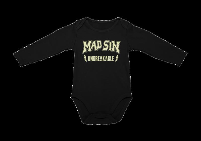 MAD SIN LOGO Unbreakable BABY ONIESE