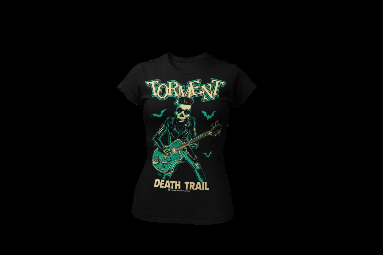 "TORMENT ""Dead train"" tshirt for WOMEN"
