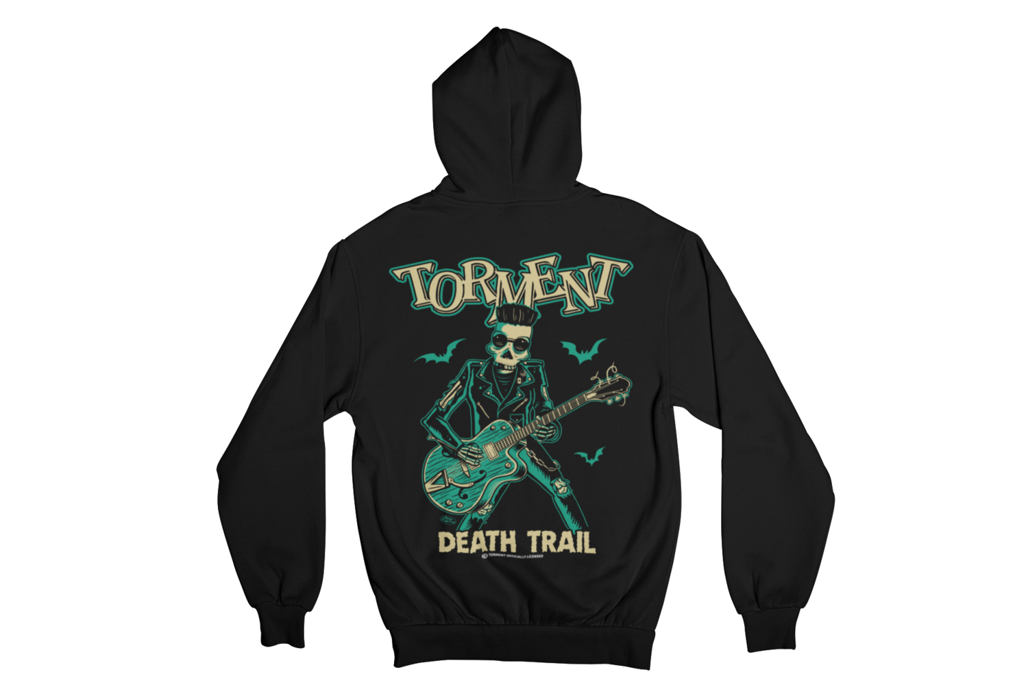 "TORMENT ""DEATH TRAIN"" HOODIE ZIP for WOMEN"