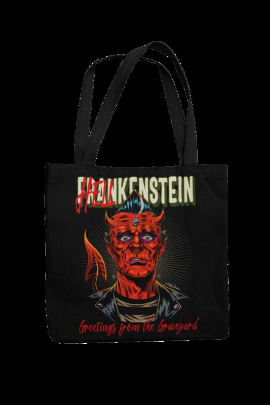 Cotton Bag Hellkenstein design by NANO BARBERO