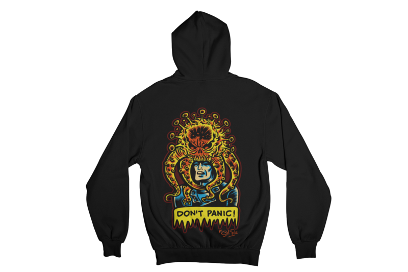 DON´T PANIC HOODIE ZIP for MEN by SOLRAC