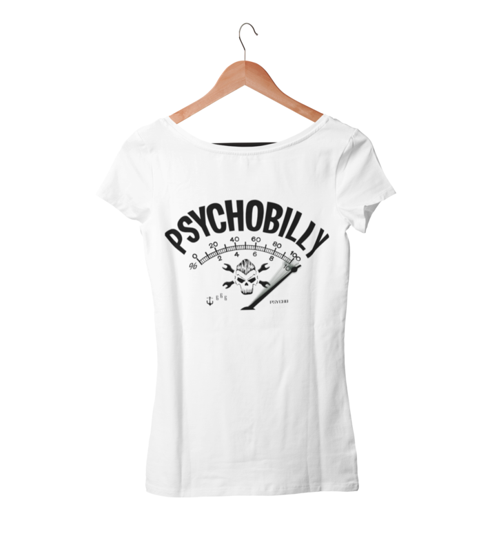 PSYCHOBILLY T-SHIRT WOMAN BY SUBCULTBILLY DESIGN