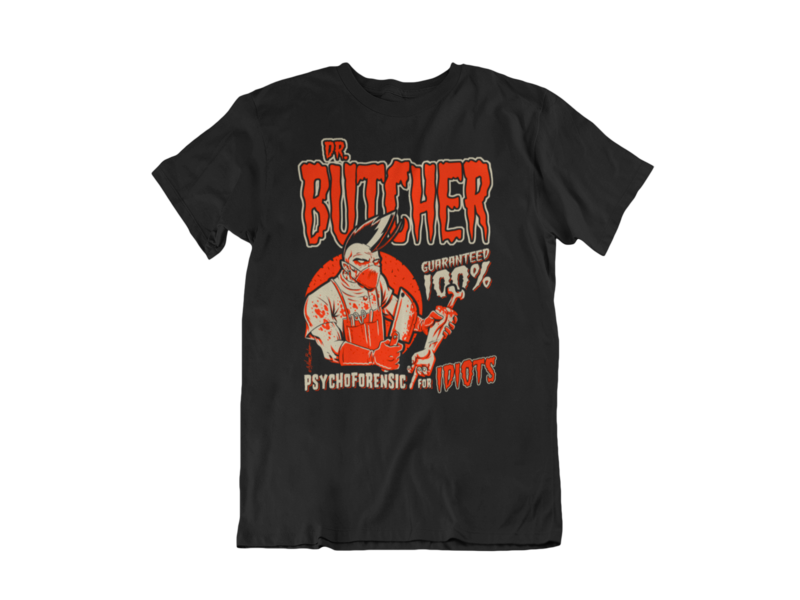 DR. BUTCHER T-SHIRT MAN BY NANO BARBERO