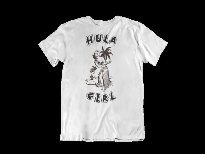 HULA GIRL T-SHIRT MAN