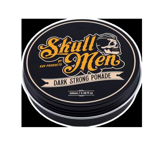 Skull Men Dark Strong Pomade 100ml