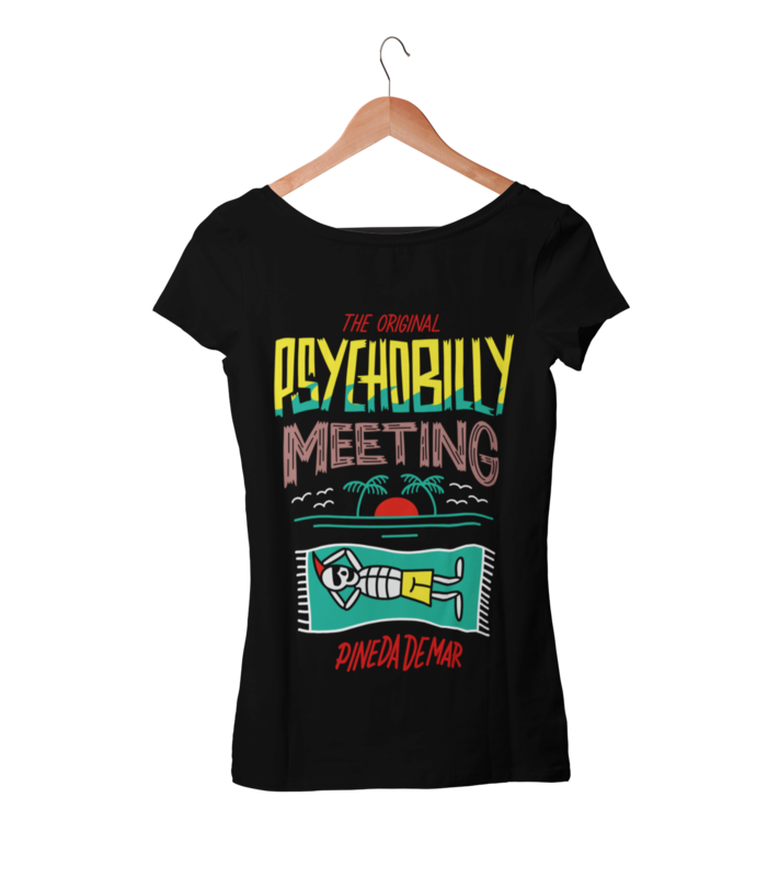 PSYCHOBILLY MEETING T-SHIRT WOMAN BY NORTEONE