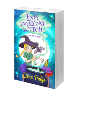 Spooky Magic (Evie Everyday Witch Book 2) - Paperback Edition 8x5