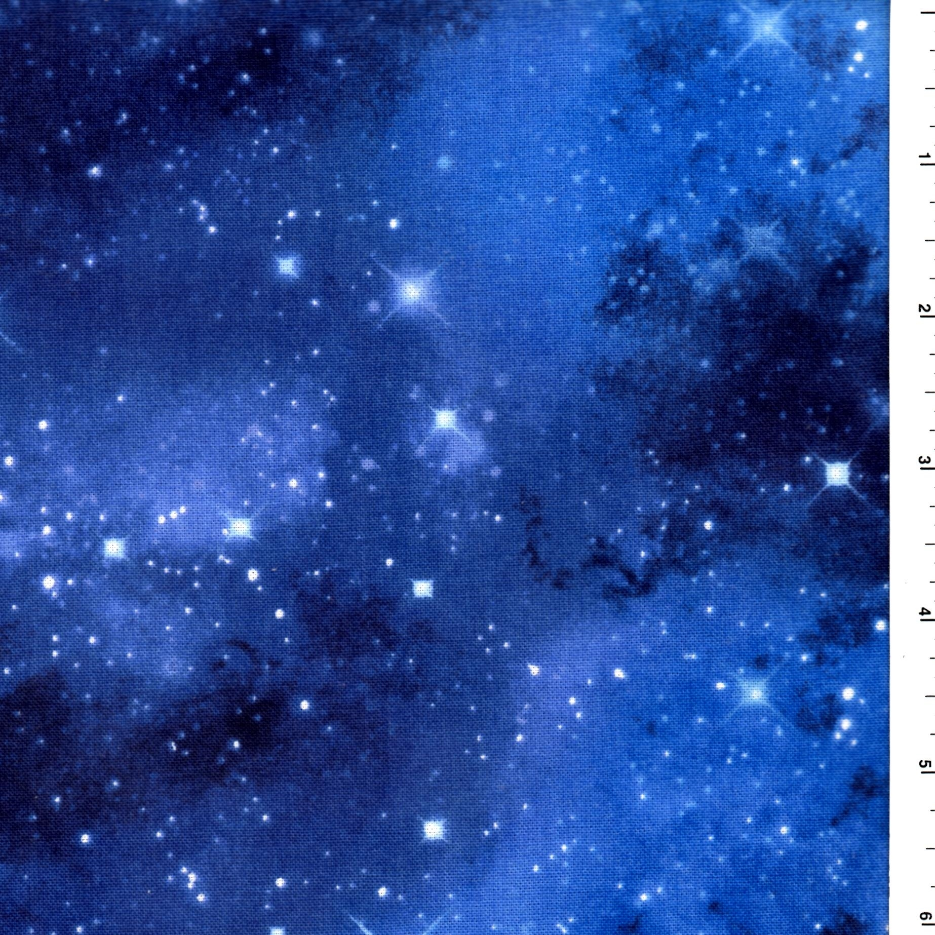 Galaxy space blue timeless treasures c9924 cotton for Space fabric by the yard