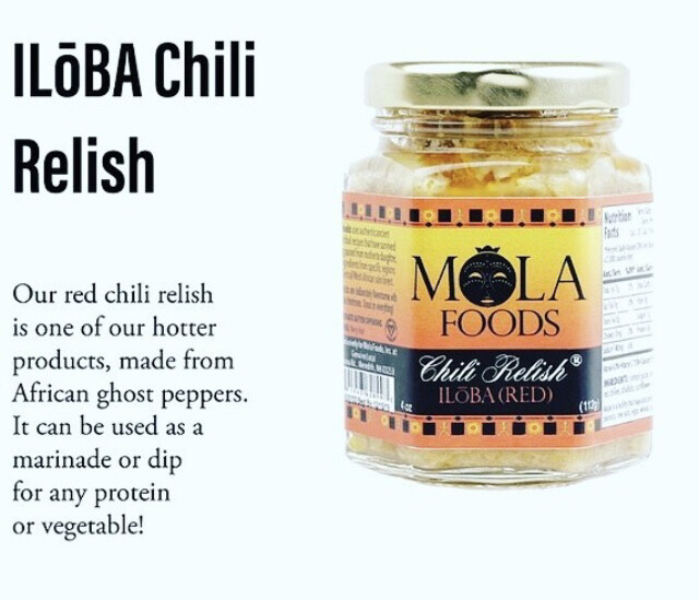 Chili Relish ILoba (Red)