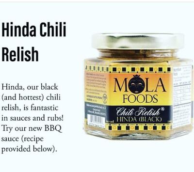 Chili Relish Hinda (black)